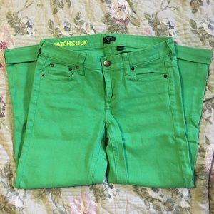 J. Crew Pants - J. Crew Matchstick Stretch Pants